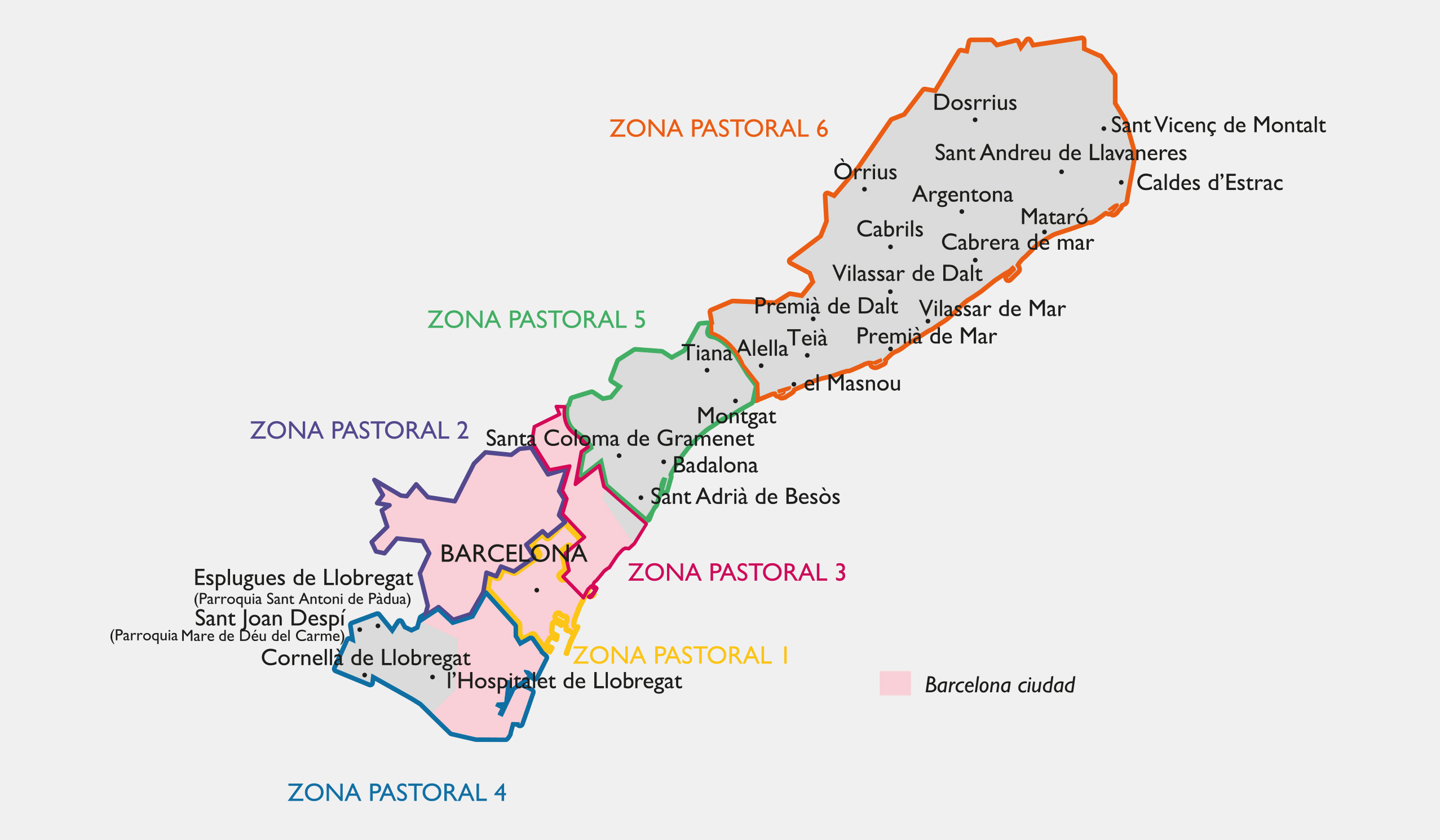Zones pastorals