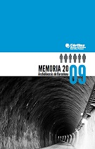 Memòria 2009 - Memòria 2009